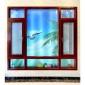 厂家定制 100系列豪华平开窗 门窗铝型材 木纹铝材 佛山凤铝门窗
