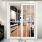 门窗定制 中空玻璃门 铝合金推拉门 厨房阳台隔音隔热吊趟移门