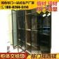 厂家现代衣柜定制玻璃门板衣柜定制平开门衣柜定制黑色玻璃衣柜门